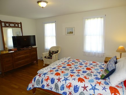 Eastham Cape Cod vacation rental - Queen Master on first floor, with private full bath