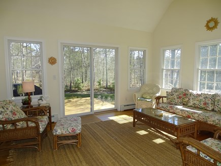 Eastham Cape Cod vacation rental - Our favorite place to relax – sun room opens to back yard