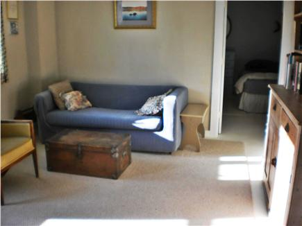 Truro Cape Cod vacation rental - Lower level TV room, bedroom off of it