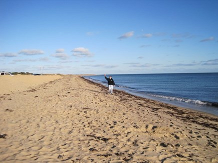 New Seabury New Seabury vacation rental - The Spit Beach is just an easy & safe 1/2 walk from house