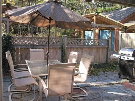 New Seabury New Seabury vacation rental - Front Patio with Gas Barbeque