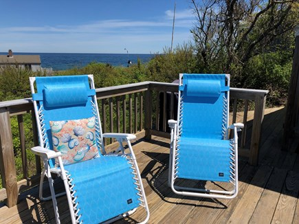 East Sandwich Cape Cod vacation rental - Upper deck facing east