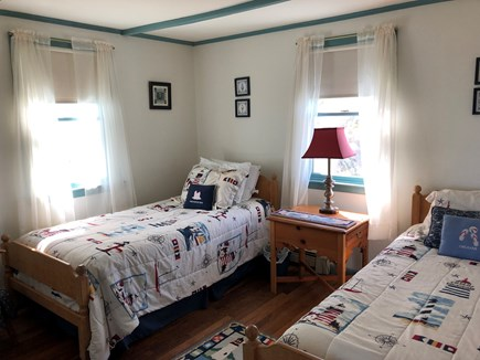 East Sandwich Cape Cod vacation rental - Front twin bedroom