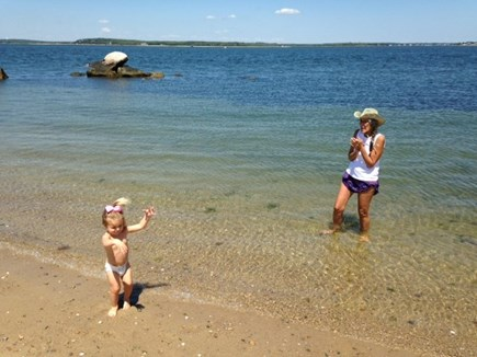 East Sandwich Cape Cod vacation rental - Beach baby!  Miles of Private beach