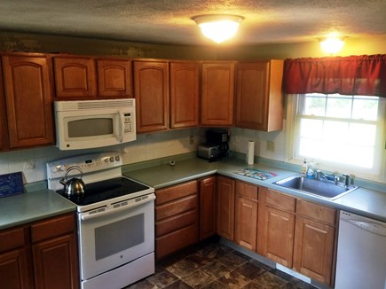 Falmouth Cape Cod vacation rental - Large, comfortable kitchen, opens up to the DR/LR.