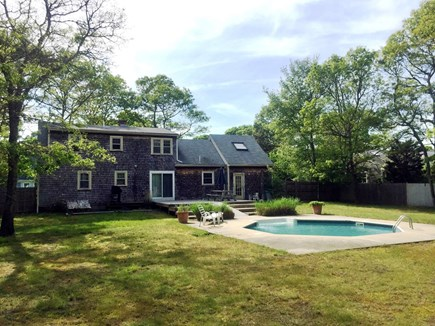 Falmouth Cape Cod vacation rental - Large fenced in backyard, great pool!