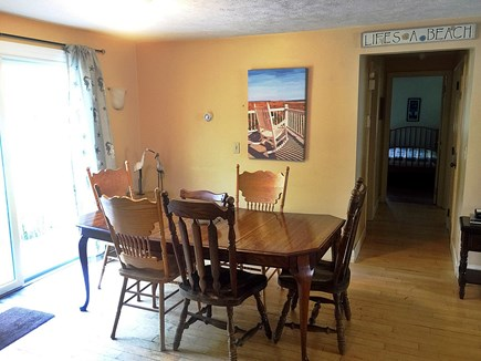 Falmouth Cape Cod vacation rental - DR with seating for 10 (some chairs unseen)