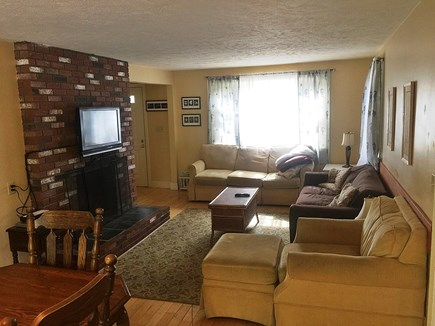 Falmouth Cape Cod vacation rental - Comfortable LR with flatscreen TV