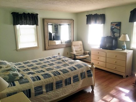 Falmouth Cape Cod vacation rental - BR 1, queen bed, first floor. Cable TV
