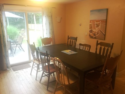 Falmouth Cape Cod vacation rental - DR - new table in 2016