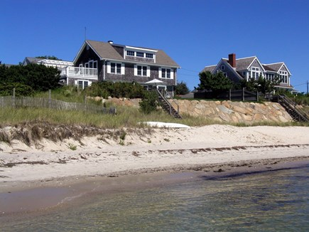 Harwich Port Cape Cod vacation rental - Looking up from the beach