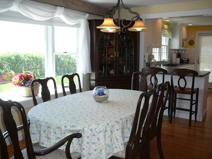 Harwich Port Cape Cod vacation rental - Dining Room & Kitchen...water views!