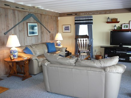 Harwich Port Cape Cod vacation rental - Family Room...so comfortable!