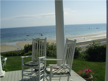 Plymouth Priscilla Beach 6 mil MA vacation rental - Relax in a rocking chair to admire the views