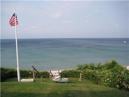 Plymouth Priscilla Beach 6 mil MA vacation rental - View of in front yard just off the porch