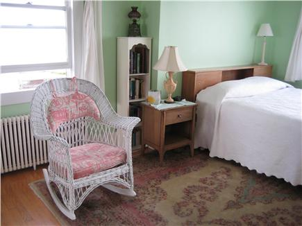 Plymouth Priscilla Beach 6 mil MA vacation rental - Front bedroom with picture window to ocean view