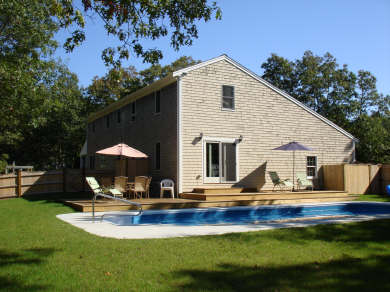 East Harwich Cape Cod vacation rental - Relax by the pool – you are on vacation!
