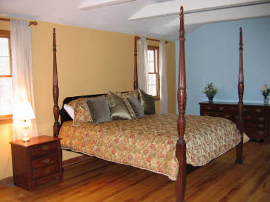 East Harwich Cape Cod vacation rental - Upstairs grand master with private bath and vaulted ceiling
