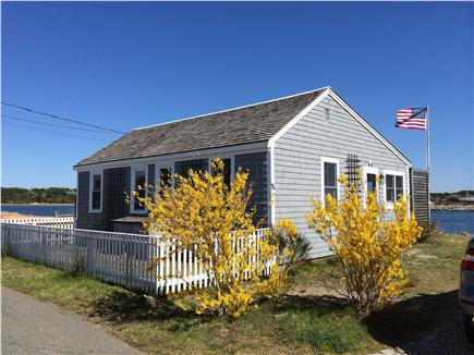 Wellfleet Harbor Cape Cod vacation rental - Parking for 2 cars, fenced area for bikes and kayaks