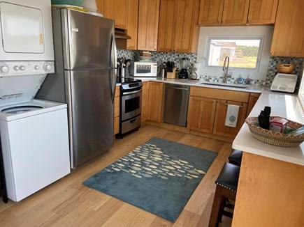 Wellfleet Harbor Cape Cod vacation rental - Kitchen with dishwasher and washer/dryer