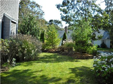 West Harwich Cape Cod vacation rental - Lush Landscaped yard (Side yard)