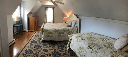 West Harwich Cape Cod vacation rental - 4th Bedroom - 2nd master furnished w/1 Queen & 1 Twin