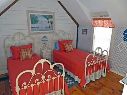 New Seabury, Maushop Village  New Seabury vacation rental - Newly Redecorated Twin Bedroom