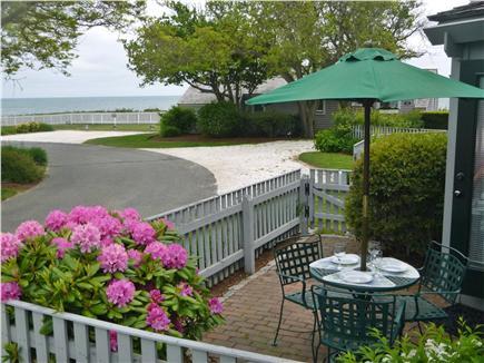 New Seabury, Maushop Village  New Seabury vacation rental - Ocean View Patio