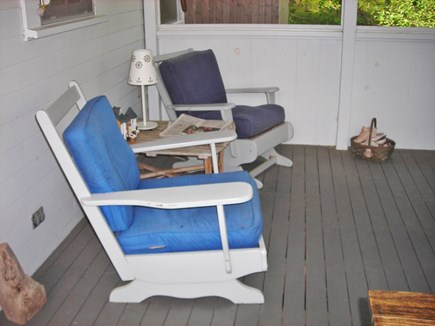 Wellfleet Cape Cod vacation rental - Cottage-porch #2