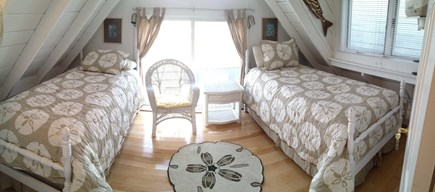 Provincetown, Next to Macmillan Wharf / BEST Cape Cod vacation rental - 2nd bedroom facing West Side beaches