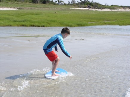 Orleans Cape Cod vacation rental - Buggy boarding is special