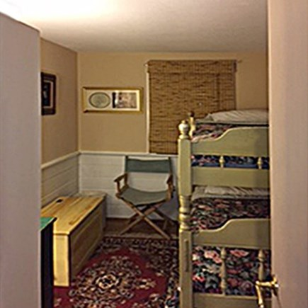 Orleans Cape Cod vacation rental - Front Bedroom-Single Bunk Beds