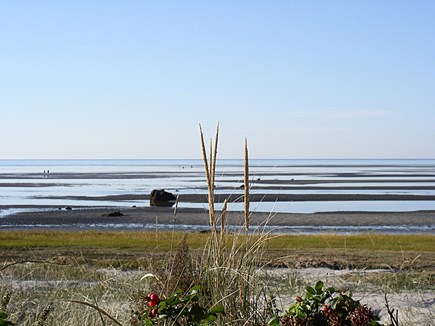 Orleans Cape Cod vacation rental - View from front deck with the famous Skaket Beach Rock