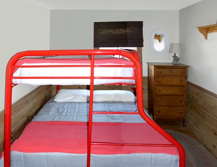 Orleans Cape Cod vacation rental - Middle Bedroom-Full/Single Bunk Beds