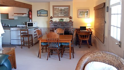 Orleans Cape Cod vacation rental - Dining Room and computer desk
