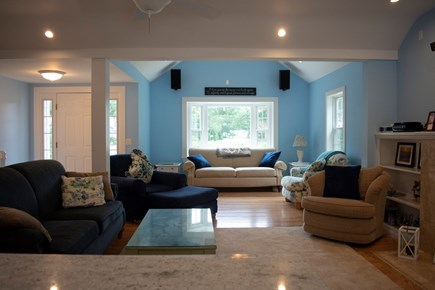 South Yarmouth Cape Cod vacation rental - Living Room from Kitchen