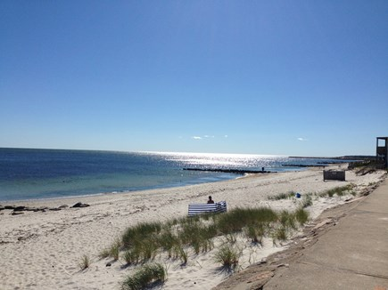 South Yarmouth Cape Cod vacation rental - Beach at the end of the street