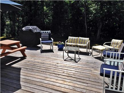 South Yarmouth Cape Cod vacation rental - Deck view