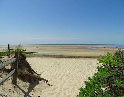 near Skaket beach in Orleans Cape Cod vacation rental - Walk 5 minutes to a special sandy path....