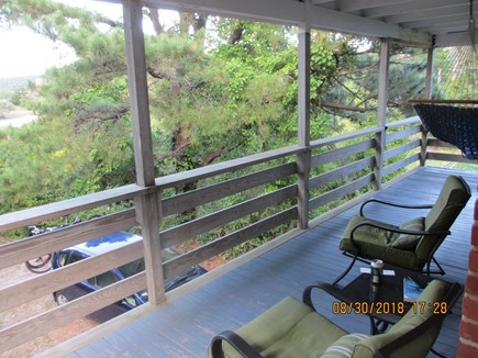 Wellfleet Cape Cod vacation rental - Front Porch