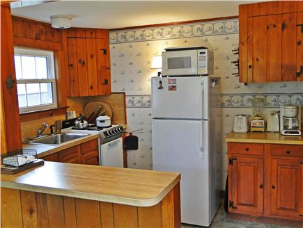 South Chatham Cape Cod vacation rental - Comfortable kitchen with plenty of supplies for  local meals