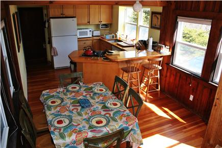 Eastham Cape Cod vacation rental - Butcher block kitchen