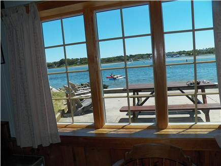 Yarmouth Cape Cod vacation rental - Waterfront / patio view taken from living room