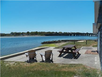 Yarmouth Cape Cod vacation rental - Patio looking towards the Bass River Bridge, Route 28