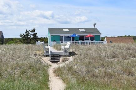 Sagamore Beach, Sandwich Cape Cod vacation rental - Back view