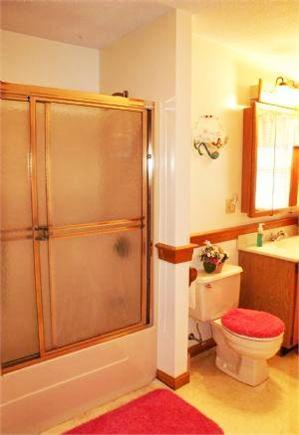 Sagamore Beach, Sandwich Cape Cod vacation rental - Bathroom 1 (upstairs)