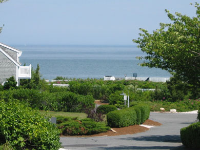 New Seabury (Mashpee) New Seabury vacation rental - View of ocean and beach from Cottage