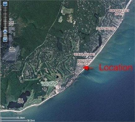 New Seabury (Mashpee) New Seabury vacation rental - Aerial view showing home location