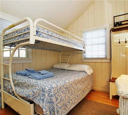 New Seabury (Mashpee) New Seabury vacation rental - Bedroom - Bunk bed with Full and Twin mattresses