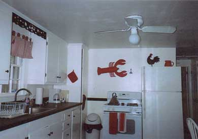 South Yarmouth/Bass River Cape Cod vacation rental - Kitchen with ceiling fan